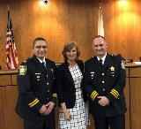 Top Stories of 2019: #8 Chief Brian Smith and Deputy Chief Jesse Gonzalez Promoted