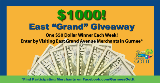 East Grand Corridor $1,000 Shopping Giveaway