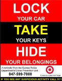 Crime Alert - Auto Burglaries