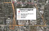 Temporary Closure of Grand Avenue at US-41 Begins December 1st