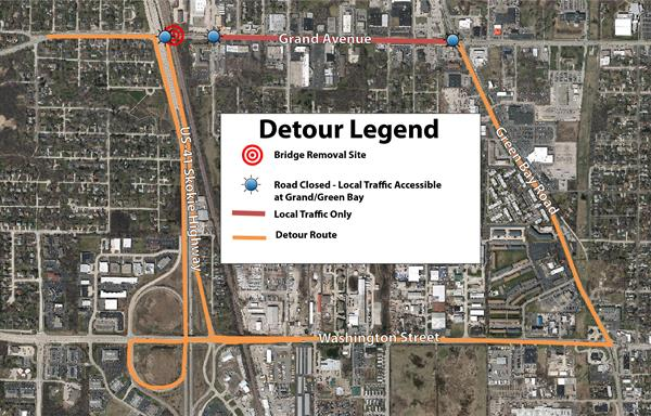 Route 132 Bridge Detour