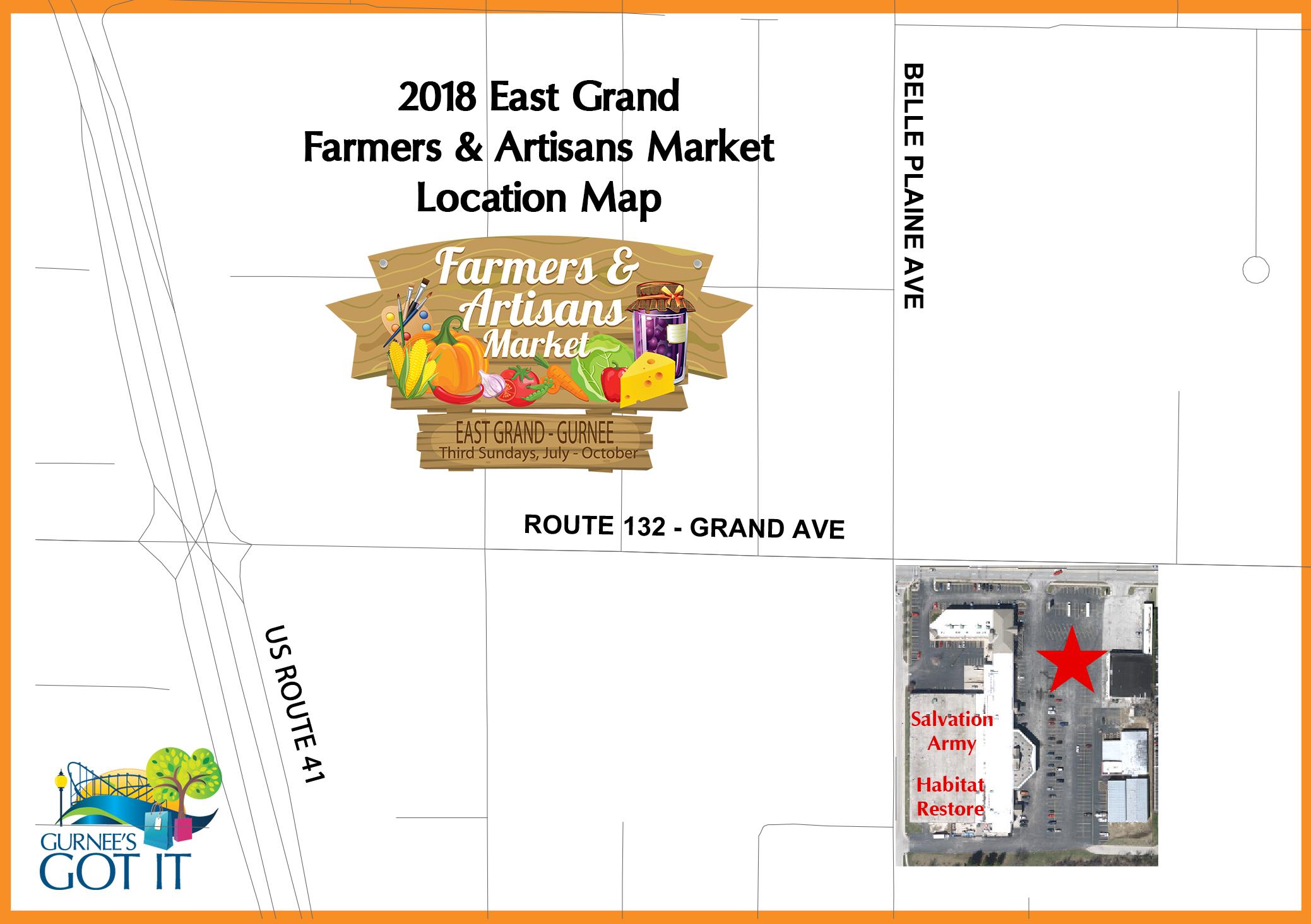 East Grand Map